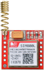 SIM800L GSM Module with Helical Antenna