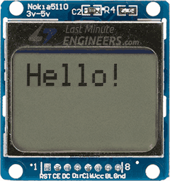 Changing Font Size On Nokia 5110 Display Module