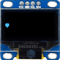 Displaying ASCII Symbols On OLED Dsiplay Module