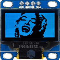 Displaying Bitmap Image On OLED Dsiplay Module