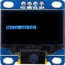 Displaying Inverted Text On OLED Dsiplay Module