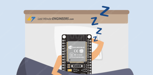 Tutorial For ESP32 Deep Sleep & Wakeup Sources