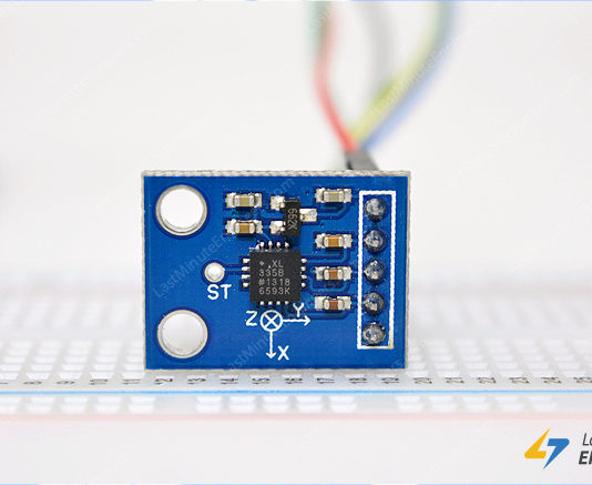 Tutorial for Interfacing ADXL335 Accelerometer Module with Arduino