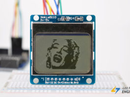 Tutorial for Interfacing Nokia 5110 Graphic LCD Display with Arduino