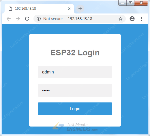 ESP32 Over The Air (OTA) Web Updater In Arduino IDE - 3