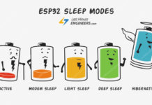 Tutorial - ESP32 Sleep Modes - Modem Sleep, Light Sleep, Deep Sleep, Hibernation & Their Power Consumption