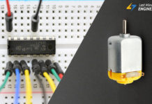 Tutorial For Controlling DC Motors with L293D Motor Driver IC & Arduino