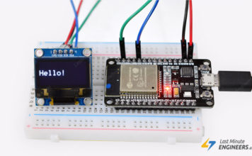 Tutorial For Interfacing OLED display with ESP32