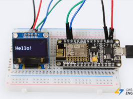 Tutorial For Interfacing OLED display with ESP8266 NodeMCU