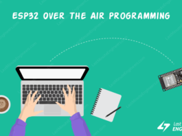 Tutorial For Programming ESP32 Over The Air (OTA) With Arduino IDE