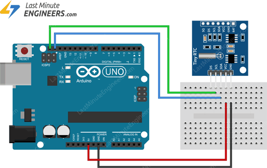 In-Depth: Interface DS1307 RTC(Real Time Clock) Module with Arduino