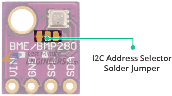 Interface BME280 Temperature, Humidity & Pressure Sensor