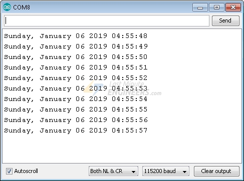 Getting Date & Time From NTP Server With ESP32