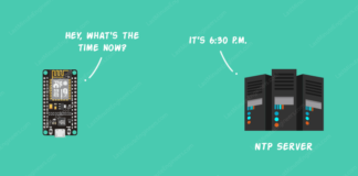 ESP8266 Tutorial For Reading Time & Date From NTP Server