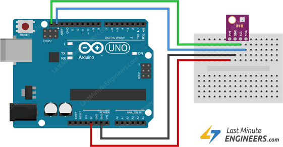 Interface BME280 Temperature, Humidity & Pressure Sensor with Arduino