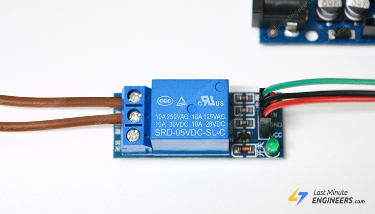 tutorial for controlling ac devices with one channel relay module and arduino