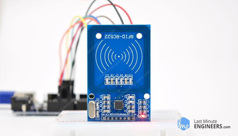 New RFID 13.56MHz RC522 Antenna RF Module Proximity Module Board with Pins