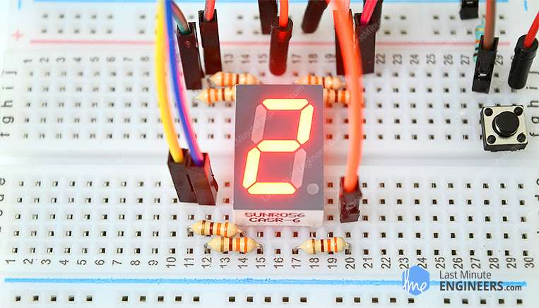 Project Working and Interfacing Seven Segment Display with Arduino
