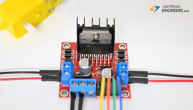 Tutorial For Interfacing L298N DC & Stepper Motor Driver With Arduino