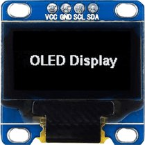 128x64 White I2C OLED Display