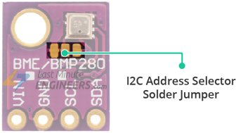 BME280 Module I2C Address Selector Solder Jumper