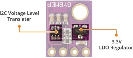 BME280 Module I2C Voltage Translator & 3.3V Regulator