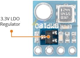 bmp180 module 3v3 regulator