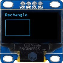 Drawing Rectangle On OLED Dsiplay Module