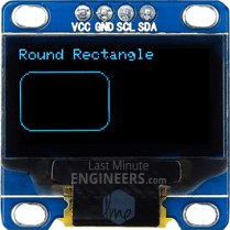 Drawing Round Rectangle On OLED Dsiplay Module