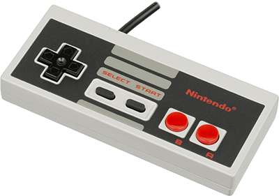 Nintendo-Entertainment-System-NES-Controller-FL