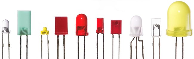 types of leds